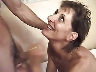 French Mature Handjob French Mature Handjob Mature
