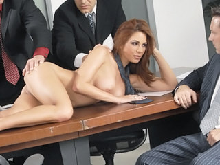 Amazing Gangbang  Milf Office Office Busty Office Milf