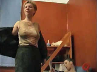 Mature Seduces Son's Friend