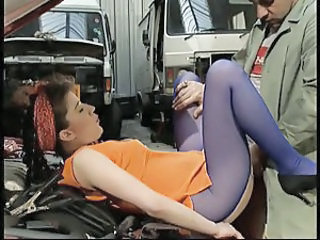 Car Clothed  Clothed Fuck Milf Ass Milf Pantyhose
