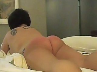 Spanking Wife Ass
