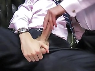 Handjob Big Cock Office