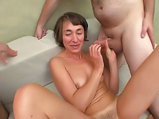 Gangbang European French French Milf