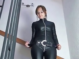 Latex Amateur Amazing German Amateur German Milf Leather