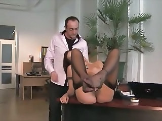 Italian MILF Secretary Italian Milf Milf Stockings Stockings