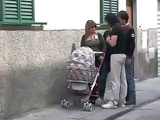 Public Italian Mom Outdoor Public