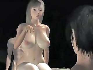 3D Crazy Cute Big Tits