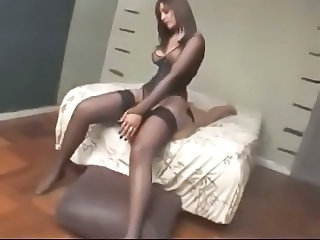 Stockings milf domination