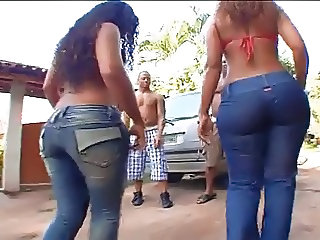 Latina Jeans Ass Jeans Ass Outdoor