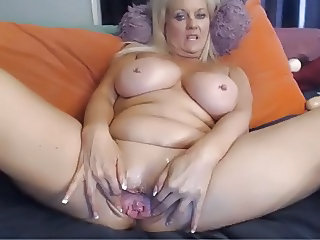 Webcam - Busty 47 year old slut with big pussy teasing, #2