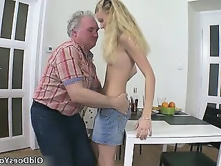 Hot blonde bitch gets ready for some part6