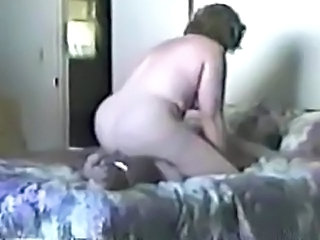 Guy Tied and Fucked by Fat Wife