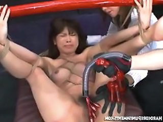 Asian Bondage Fetish Tied