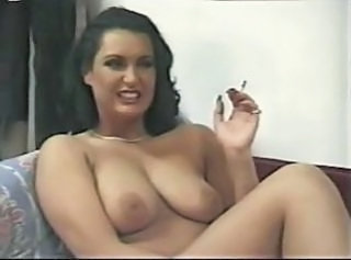 Smoking MILF Natural Sperm