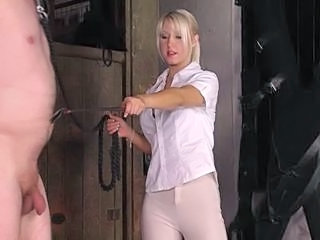 Exquisite British Riding Mistress trains her pony Sex Tubes