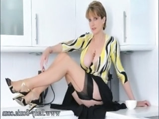 British Kitchen Big Tits Big Tits Milf Big Tits Stockings British Milf