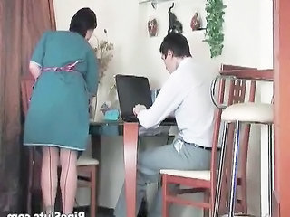 Maid Uniform Russian Maid + Mature Mature Young Boy Old And Young