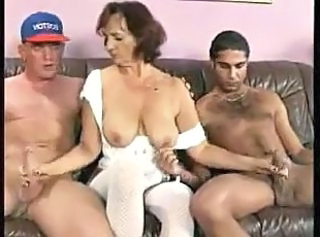 Mature Old and Young  German Mature Group Mature Handjob Mature