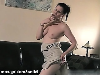 Smoking MILF Stripper Milf Ass