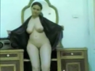 Egyptian girl dance naked