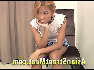 Thai Street Girl Loves Own Anal Juices