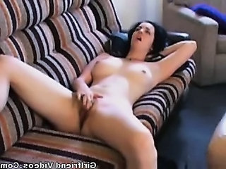 Gf Gets Horny & Has Orgasm