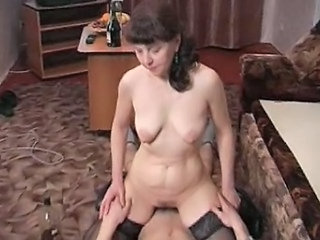Mom Russian Drunk Drunk Mature  Old And Young