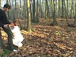 Outdoor Blowjob Hardcore Forest Outdoor