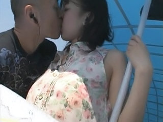 Public Asian Girlfriend Outdoor Public Public Asian