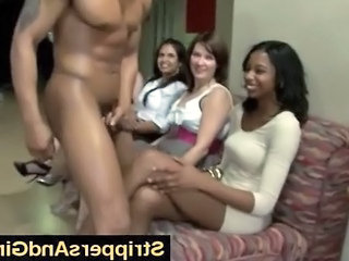 Black Stripper Gives Girl Messy Facial I...