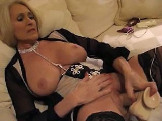 Classy milf And sex toys