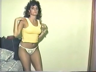 Panty Stripper Webcam Nylon