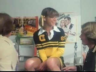 Marilyn Chambers As A Cheerleader Takes On 2 Guys