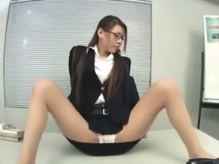 Secretary Panty Glasses Japanese Milf Milf Asian Milf Ass