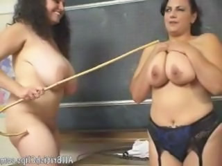 Two Chubby British Lesbian In Class Room british euro brit european cumshots swallow