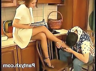Pantyhose Feet Legs Fetish Nylon Pantyhose