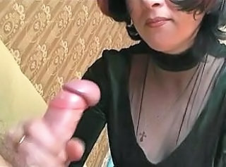 Mature Handjob Wife Handjob Mature