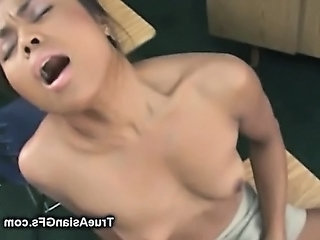 Asian Teen Masturbating In Classroom
