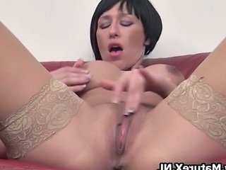 Mature Lady With Big Fake Tits Loves Part3