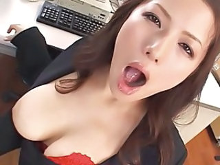 Secretary Amazing Asian Japanese Milf Milf Asian Milf Office