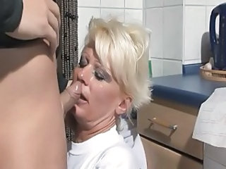 German Blowjob Kitchen Blowjob Mature German Blowjob German Mature