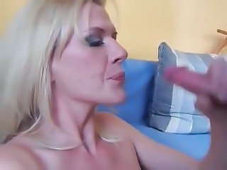 German Handjob European German Milf