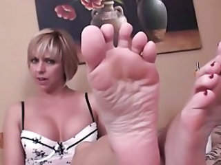 Feet European MILF Son