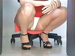 Upskirt Office Panty Panty Upskirt Stockings Upskirt