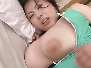 Creampie Big Tits and Ass Mom