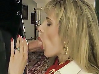 French Clothed European Blowjob Milf European French