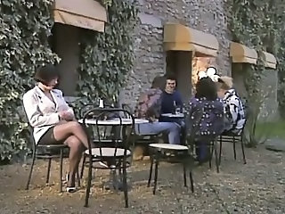 Vintage French Public French Milf Milf Ass Milf Stockings