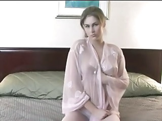 Pink Sheer in Bed - 2005