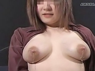 Mom Asian Nipples Milk Mother