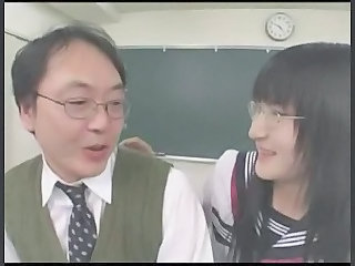 Glasses Teacher Asian Japanese School Japanese Teacher School Japanese